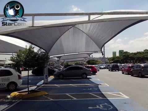 Cobertura sombrite para estacionamento