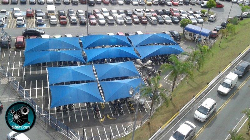 Coberturas para garagens de carros