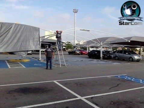 Sombrite para estacionamento