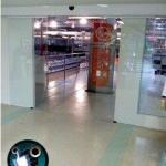 Porta de vidro automática com sensor preço